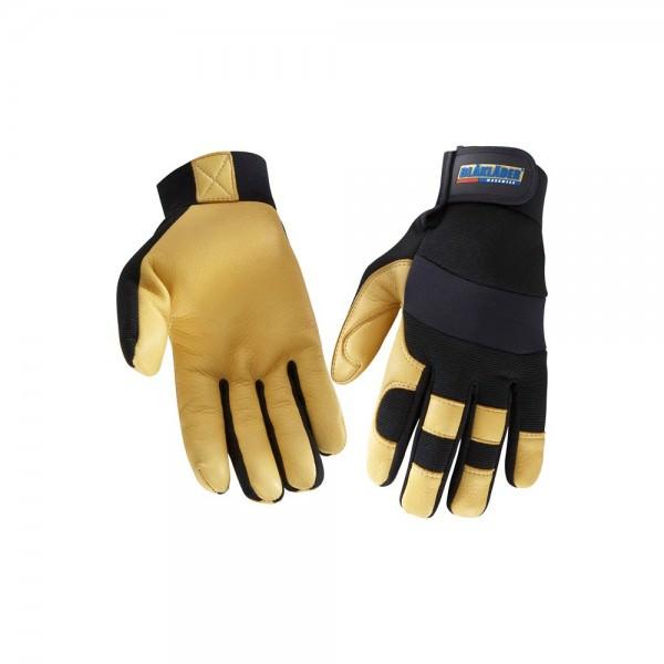 Blakläder Winterhandschuh Paar Handwerk schwarz gelb