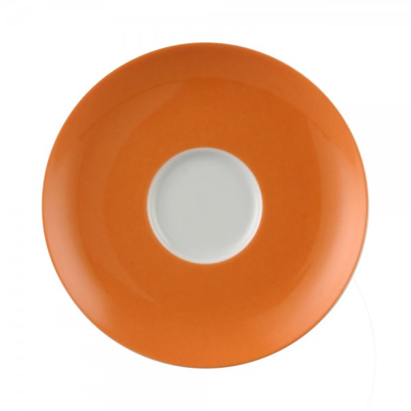 Thomas Kaffee-Untertasse Sunny Day Tee-Untertasse Porzellan Orange