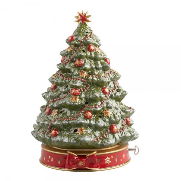 Villeroy & Boch Spieluhr Weihnachtsbaum Toy's Delight Porzellan