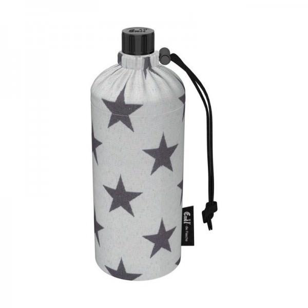 Emil die Flasche 600ml Trinkflasche mit Isolierung und Flaschenbeutel Bio Stern
