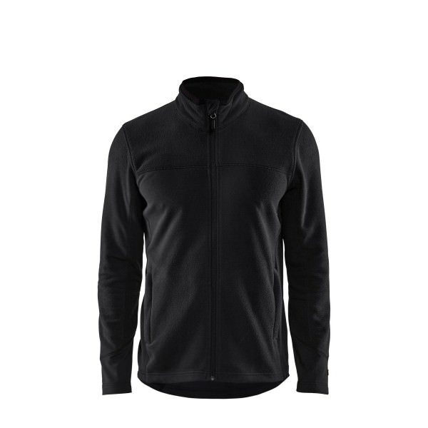 Blakläder Mikrofleece Jacke Schwarz Polyester Reißverschluß