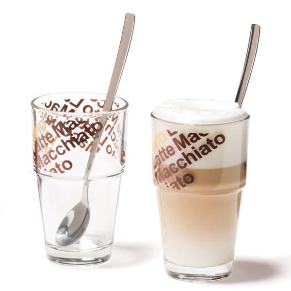 Leonardo 042553 Solo 4-tlg Latte Macchiato Set