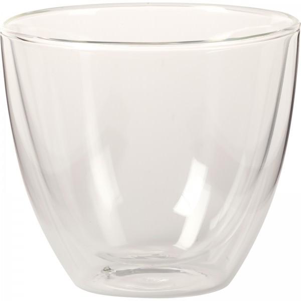 Villeroy & Boch 420ml Becher L Manufacture Rock Glas doppelwandig