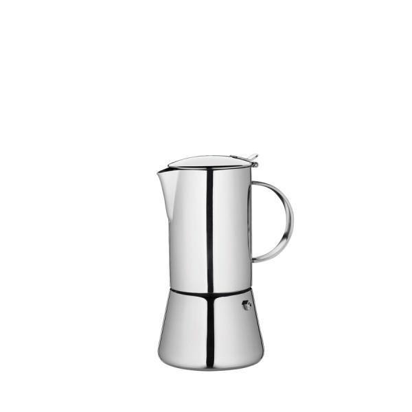 Cilio AIDA Espressokocher Edelstahl poliert für 4 Personen Induktion