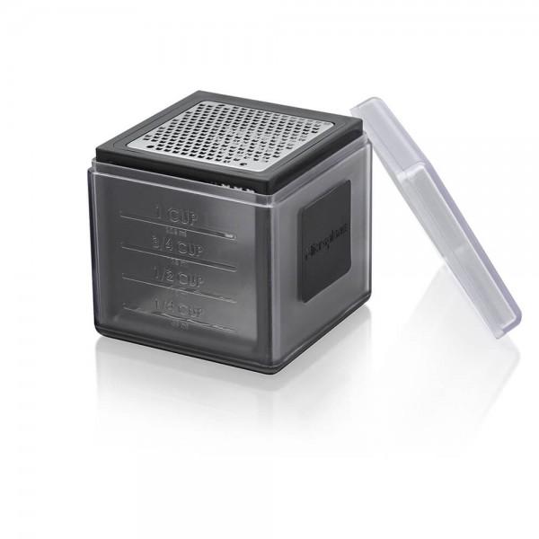 Microplane 34002E 8cm Cube Grater Reibe schwarz