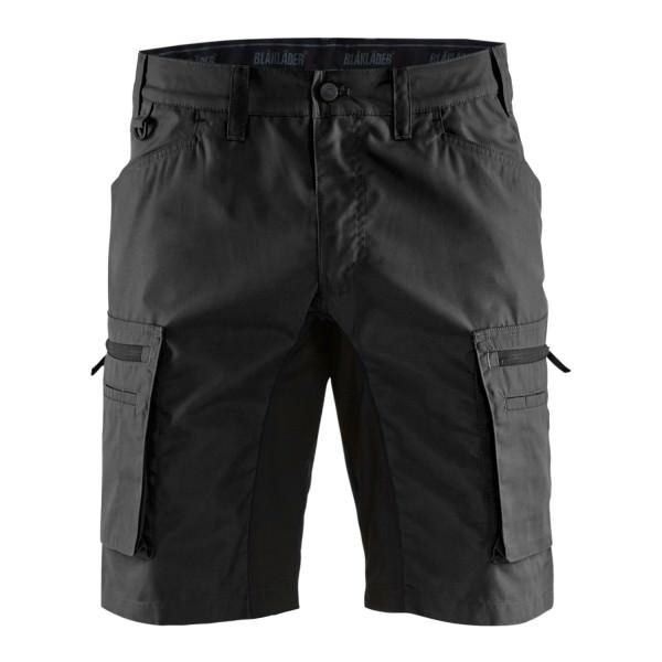 Blakläder 1449 Service Shorts Stretch federleicht Arbeitshose kurz schwarz