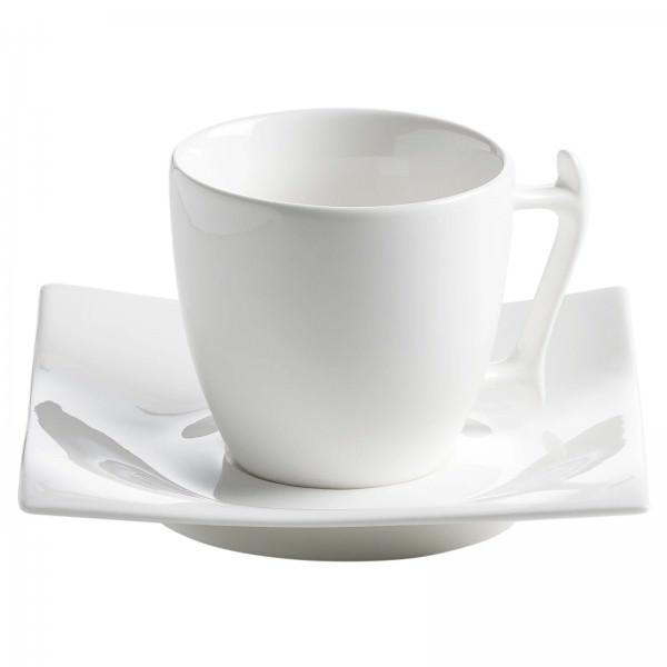 Maxwell und Williams 100ml Espressotasse mit Untertasse Porzellan MOTION RP00401