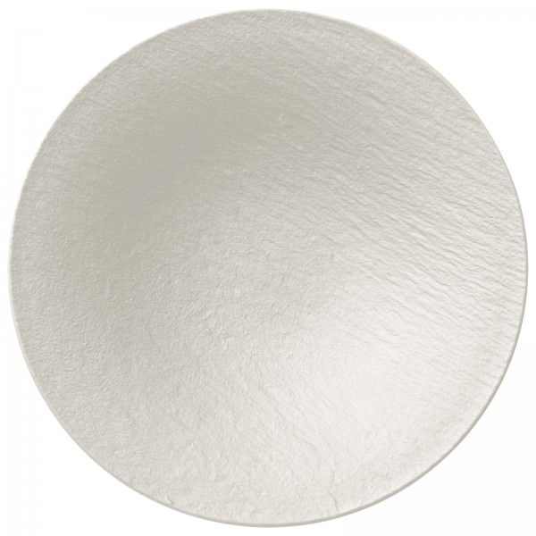 Villeroy & Boch 29cm Schale tief Manufacture Rock Blanc Porzellan