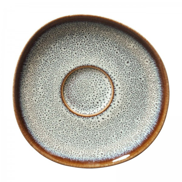 Villeroy und Boch 15cm Untertasse Lave beige Steingut 1042811310 Unterteller