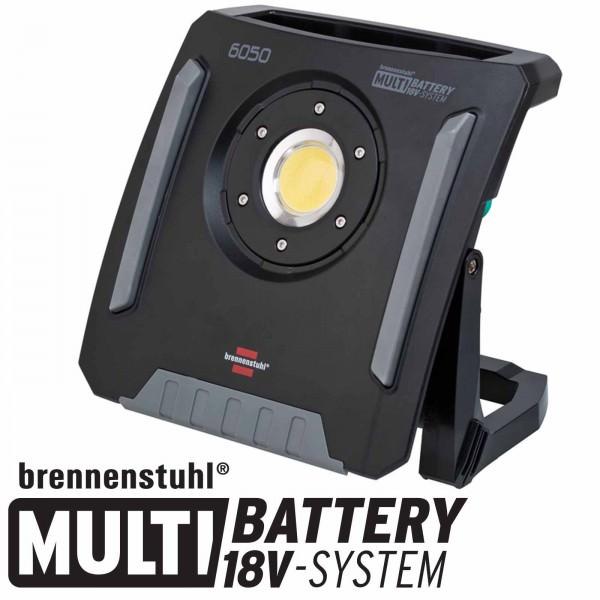 Brennenstuhl Multi Battery LED Hybrid Baustrahler 6050 MH 18Volt Multi-System