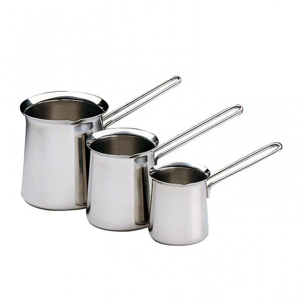 Küchenprofi Türkisch Mokka / Aufschäumbecher Füllmenge 200ml, 400ml oder 700ml