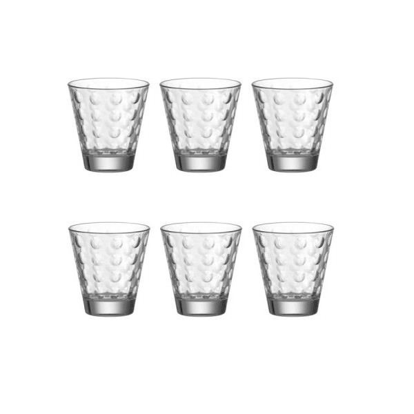 Leonardo 6er Set Becher klein Ciao Optic Saftglas Wasserglas