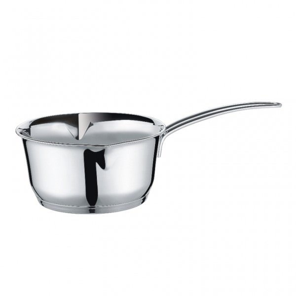 Küchenprofi Stielkasserolle COOK 14cm Edelstahl mit Innenskalierung