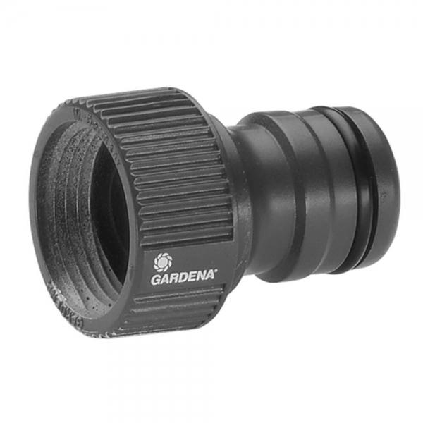 """Gardena 2801-20 Profi-System-Hahnstück, 21 mm (G 1/2"""")-Wasserhahn mit 26,5 mm (G 3/4"""")-Gewinde"""