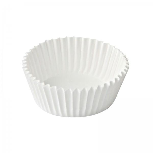 Dr. Oetker 1808 Papier 180 Stück Backförmchen weiß 3cm Muffinförmchen Muffin Cupcake