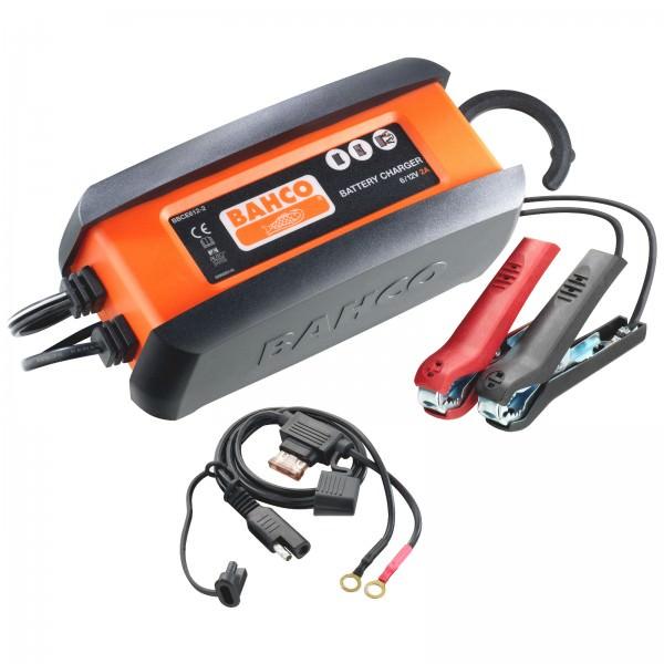 Bahco BBCE612-2 vollautomatisches Mikroprozessor Batterieladegerät