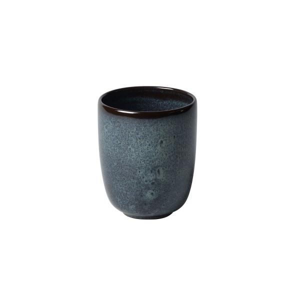 Villeroy & Boch 400ml Becher ohne Henkel Lave gris Steingut
