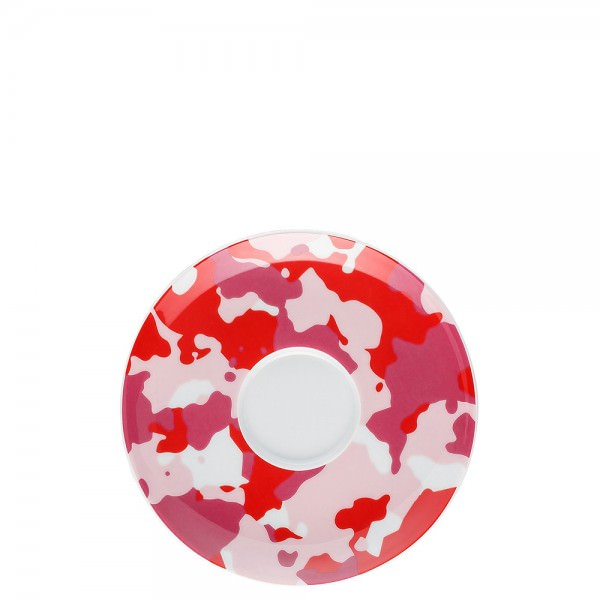 Thomas 14 5cm Sunny Day Camo Red Untertasse Porzellan