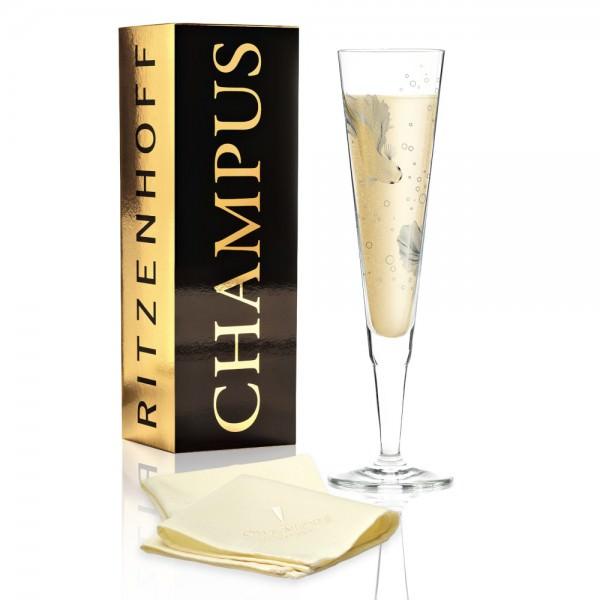 Ritzenhoff Champagnerglas Champus 200ml Werner Bohr 2019