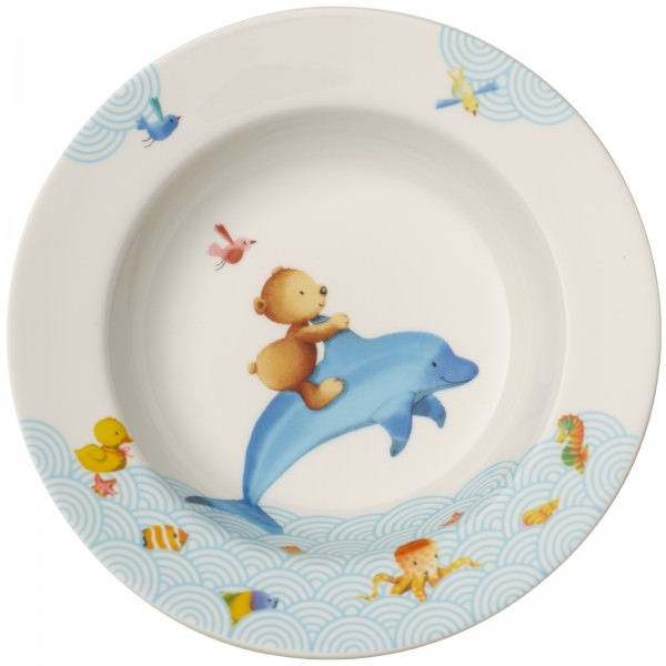 Villeroy & Boch Kinderteller tief 195mm Happy as a Bear