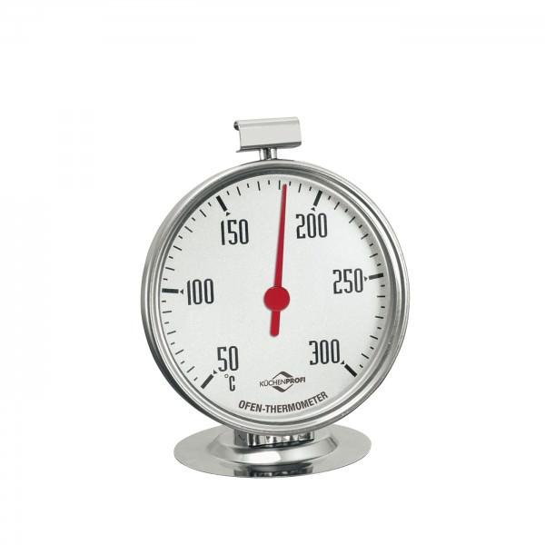 Küchenprofi 8cm Backofen Thermometer Edelstahl 50°C bis 300°C