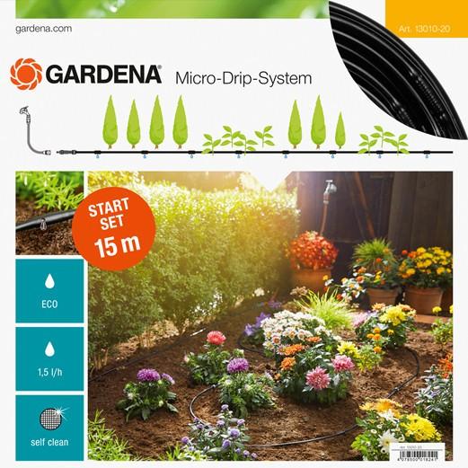 Gardena 13010-20 Micro-Drip-System Start Set Pflanzreihe S