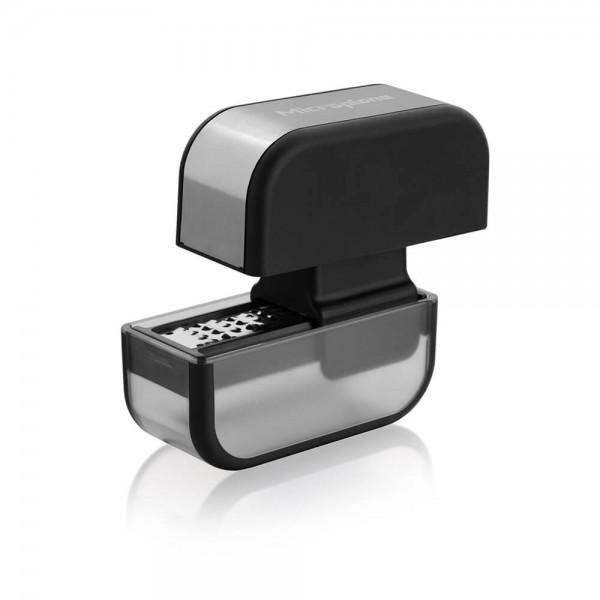 Microplane Knoblauchschneider Edelstahl schwarz Spülmaschine