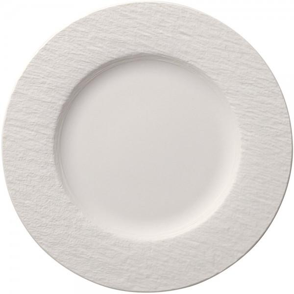 Villeroy & Boch 27cm Speiseteller Manufacture Rock blanc Porzellan