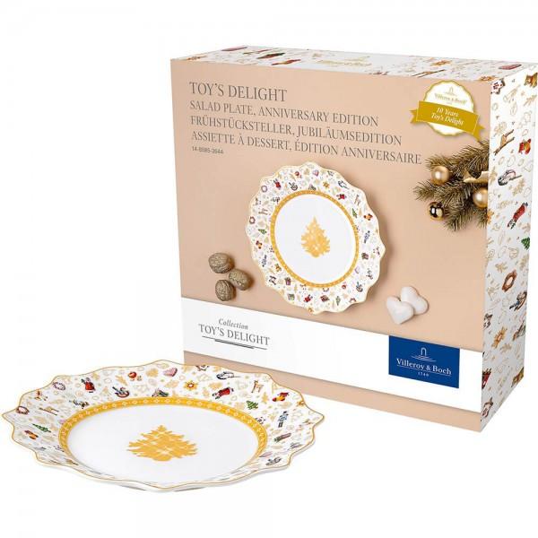 Villeroy und Boch Toy's Delight Frühstücksteller Jubiläumsedition bunt/gold/weiß 1485852644 Hauptbild