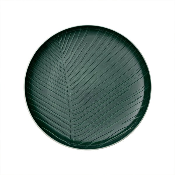 Villeroy & Boch Teller it's my match 24cm Grün Leaf