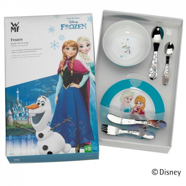 WMF Frozen Disney Kinderbesteck-Set 7-teilig