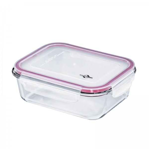 Küchenprofi 1100ml Lunchbox Vorratsdose Glas 21x16cm auslaufsicher 1001753520