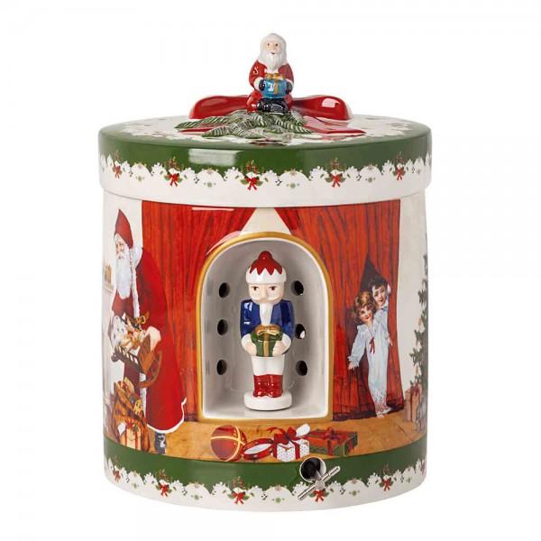 Villeroy und Boch 21x16cm Christmas Toys Porzellan Teelicht Spieluhr. Hauptbild.