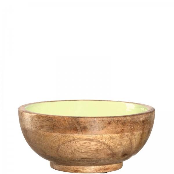 Leonardo 20cm Schale grün aus Mangoholz APERITIVO 029976