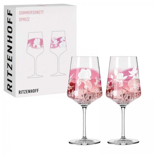 Ritzenhoff 2er Set 544ml Aperitifglas Sommersonett Sprizz 003 Kristallglas 3461003